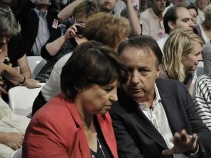 Martine Aubry et Jean-Pierre Bel