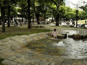 Fillette à Sapporo