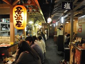 Restaurant à Sapporo, le soir