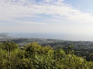 Toya-Date en regardant vers Muroran